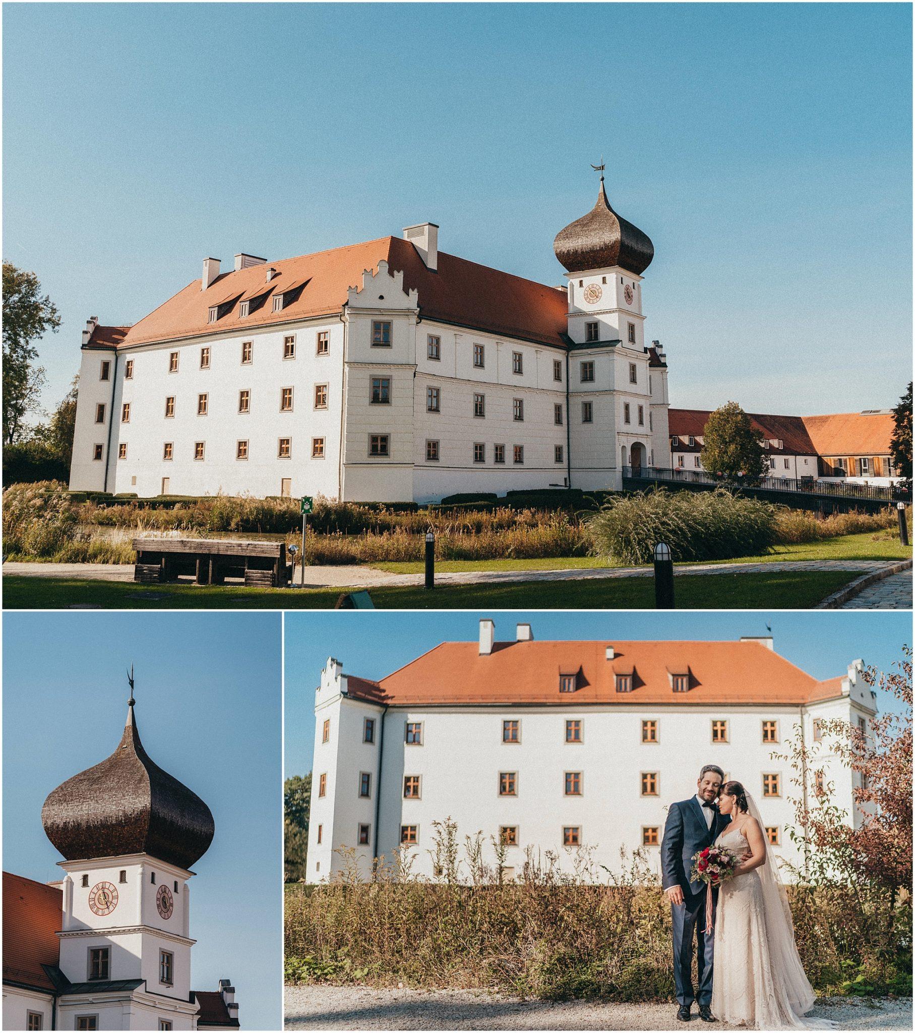 Hochzeit Schloss Hohenkammer, Hochzeit auf Schloss Hohenkammer
